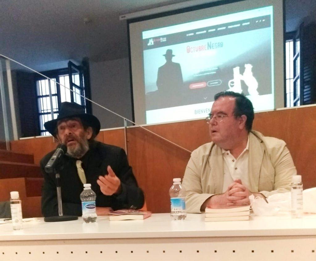 Foto de Javier García-Pelayo y José Manuel Cruz en el Festival
