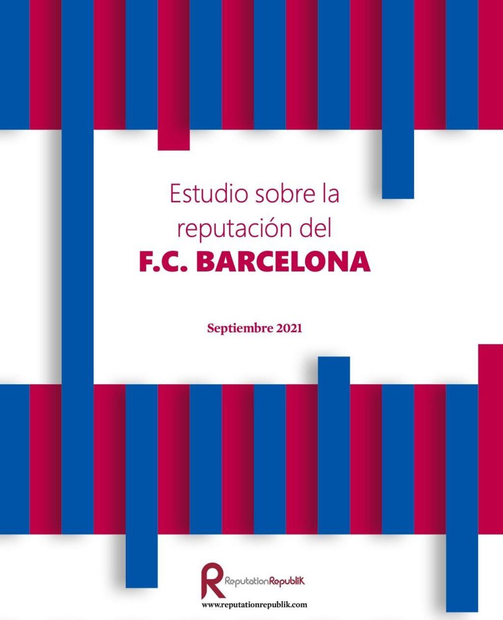 Foto de Estudio sobre la reputación del FC Barcelona
